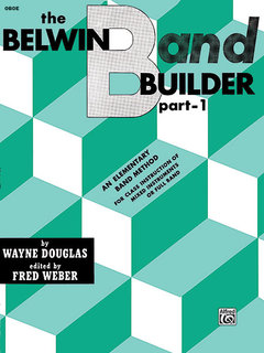 Belwin Band Builder, Part 1 - Oboe Buch