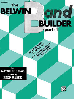 Belwin Band Builder, Part 1 - Bassoon Buch