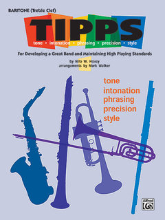 T-I-P-P-S for Band - Baritone (T.C.) Buch