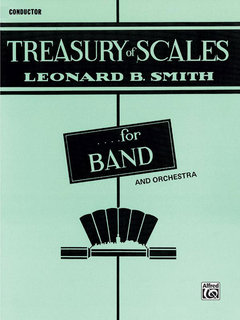 Treasury of Scales for Band and Orchestra - Conductor Buch