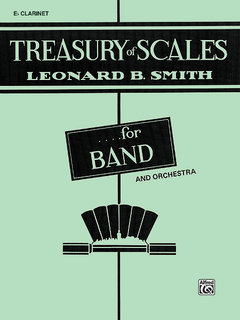 Treasury of Scales for Band and Orchestra - E-Flat Clarinet Buch