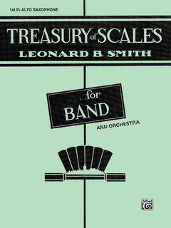 Treasury of Scales for Band and Orchestra - 1st E-Flat Alto Saxophone Buch