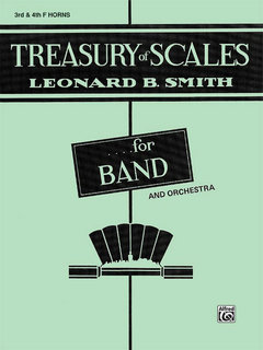 Treasury of Scales for Band and Orchestra - 3rd & 4th F Horns Buch
