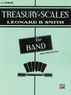 Treasury of Scales for Band and Orchestra - 1st Trombone Buch