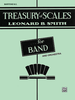 Treasury of Scales for Band and Orchestra - Baritone B.C. Buch
