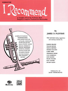 I Recommend - Conductor (Piano) Buch