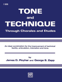 Tone and Technique - F Horn Buch