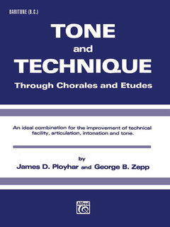 Tone and Technique - Baritone (B.C.) Buch