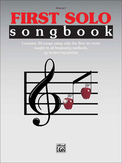 First Solo Songbook - Horn in F Buch