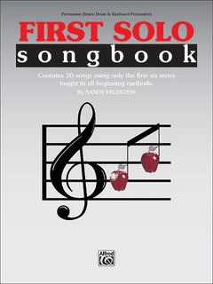 First Solo Songbook - Percussion (Snare Drum & Keyboard Percussion) Buch