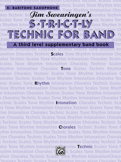 S*t*r*i*c*t-ly Strictly Technic for Band - E-Flat Baritone Saxophone Buch