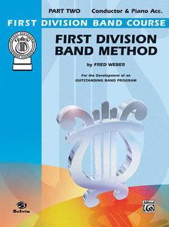 First Division Band Method, Part 2 - Conductor Buch