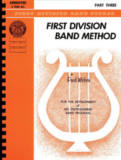 First Division Band Method, Part 3 - Conductor Buch