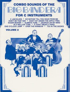 Combo Sounds of the Big Band Era, Volume 2 - C Instruments
