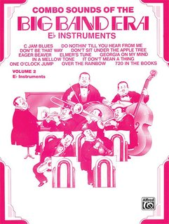 Combo Sounds of the Big Band Era, Volume 2 - E-Flat Instruments