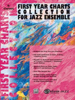 First Year Charts Collection for Jazz Ensemble - 1st B-Flat Tenor Saxophone