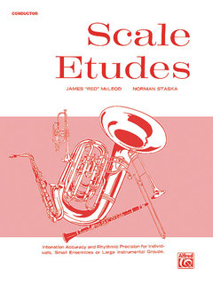 Scale Etudes - Conductor Buch