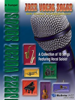Jazz Vocal Solos with Combo Accompaniment - B-Flat Trumpet