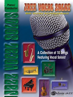 Jazz Vocal Solos with Combo Accompaniment - Piano/Conductor