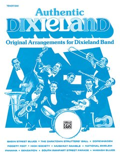 Authentic Dixieland - Tenor Saxophone