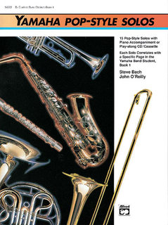 Yamaha Pop-Style Solos - Flute/Oboe/Mallet Percussion Buch und CD