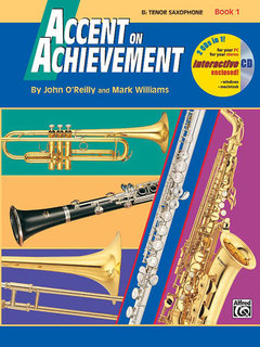 Accent on Achievement, Book 1 - B-Flat Tenor Saxophone Buch und CD