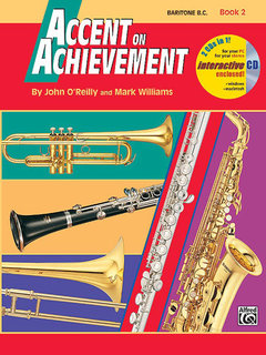 Accent on Achievement, Book 2 - Baritone B.C. Buch und CD
