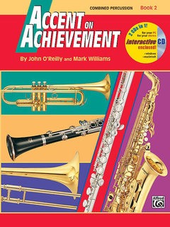 Accent on Achievement, Book 2 - Combined Percussion?S.D., B.D., Access., Timp. & Mallet Percussion Buch und CD