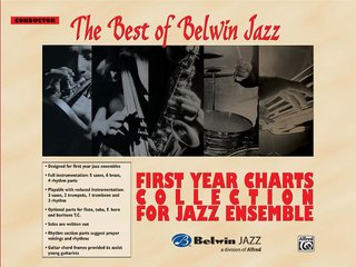 Best of Belwin Jazz: First Year Charts Collection for Jazz Ensemble - Conductor