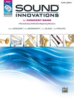 Sound Innovations for Concert Band, Book 1 - B-Flat Clarinet Buch, CD und DVD