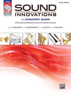 Sound Innovations for Concert Band, Book 2 - E-Flat Baritone Saxophone Buch, CD und DVD