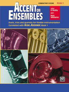 Accent on Ensembles, Book 1 - Conductors Score Partitur
