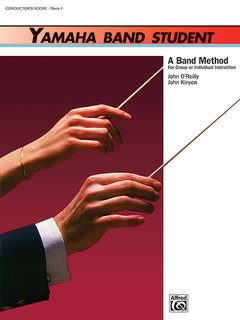 Yamaha Band Student, Book 1 - Conductors Score Partitur