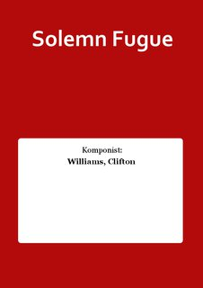 Solemn Fugue