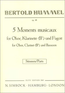 5 Moments musicaux op. 48