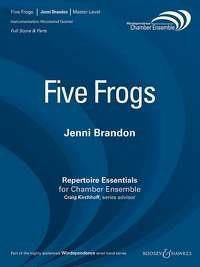 Five Frogs - Partitur