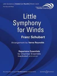 Little Symphony for Winds - Partitur