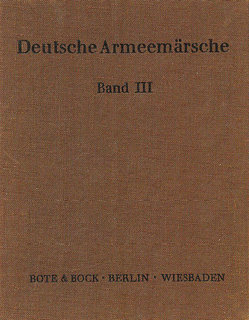 Deutsche Armeemärsche Band 3 - Kornett in Es