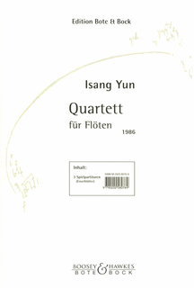 Quartett - Partitur