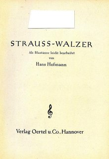 Strauss-Walzer - 1. Klarinette in B