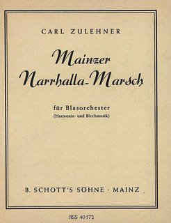 Mainzer Narrhalla-Marsch - Klarinette II in B