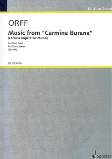 Music from Carmina Burana - Partitur