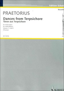 Dances from Terpsichore Band 1 - Bass-Blockflöte