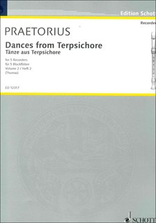 Dances from Terpsichore Band 2 - Bass-Blockflöte