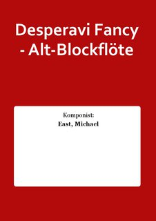 Desperavi Fancy - Alt-Blockflöte