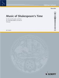 Music of Shakespeares Time - Heft