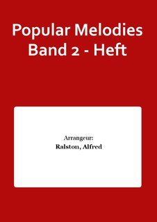Popular Melodies Band 2 - Heft