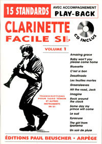 Clarinette Facile 1 (15 Titel) +CD