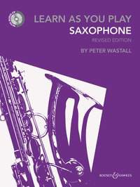 Learn As You Play Saxophone