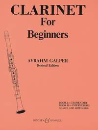 Clarinet for Beginners Vol. 1